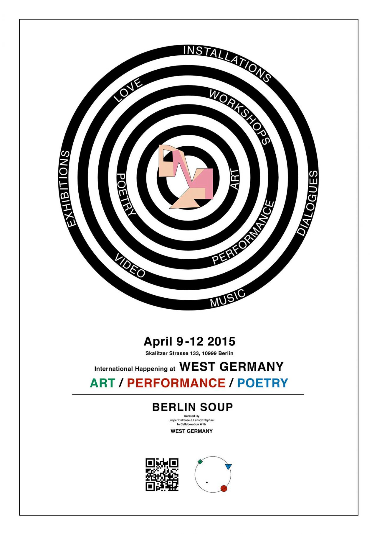 Chris Calmer Berlin Soup / Art Festival