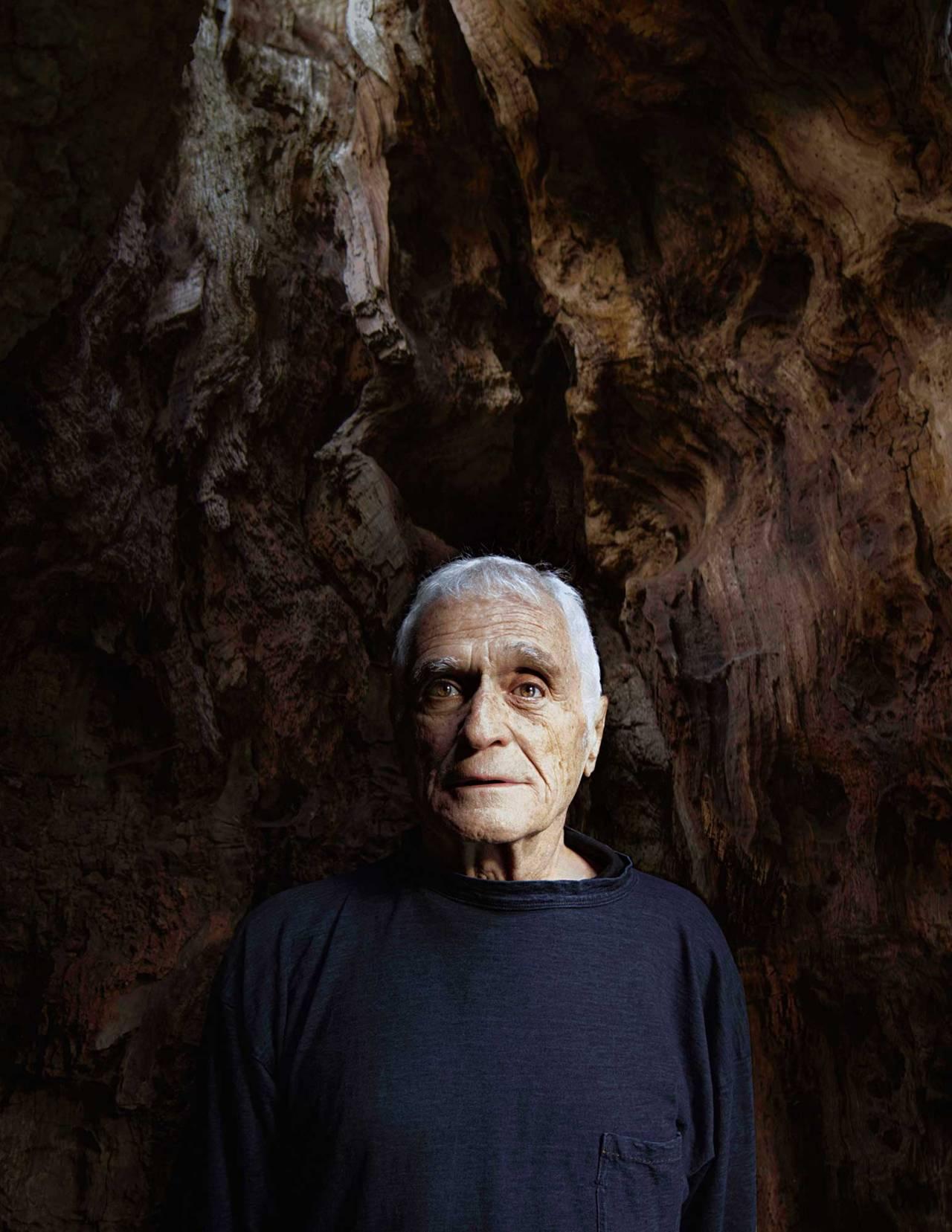 CHRIS CALMER ARTIST JOHN GIORNO ·PORTRAIT · COPENHAGEN