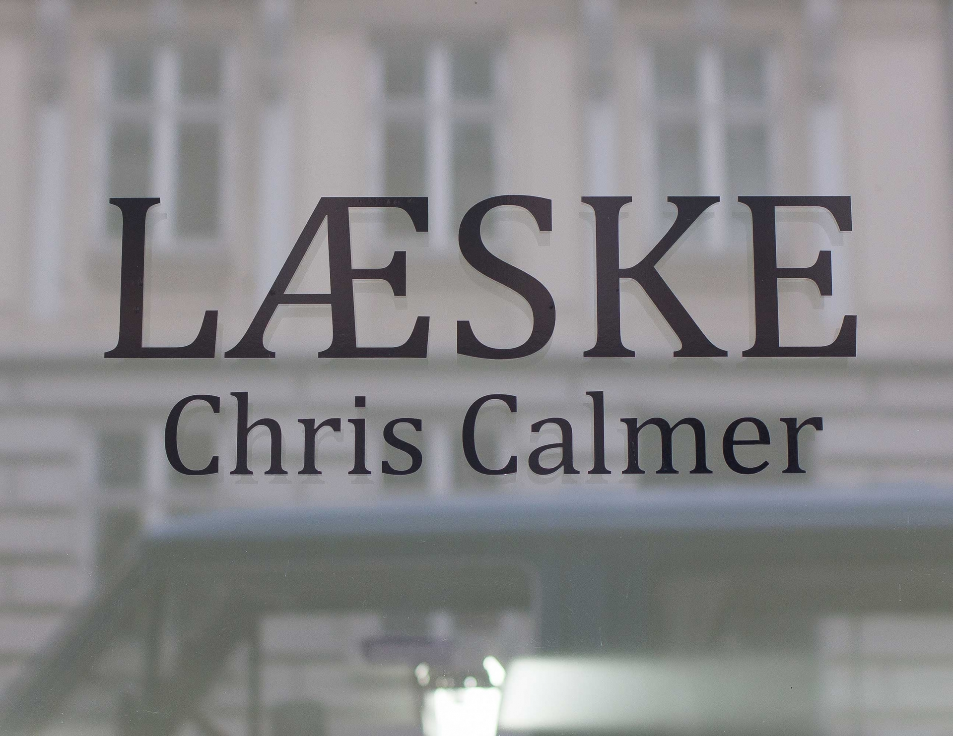 CHRIS CALMER LÆSKE · SOLO EXHIBITION · BUDDENBROOKS GALLERY · COPENHAGEN
